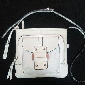 Franco Sarto White leather purse smaller size